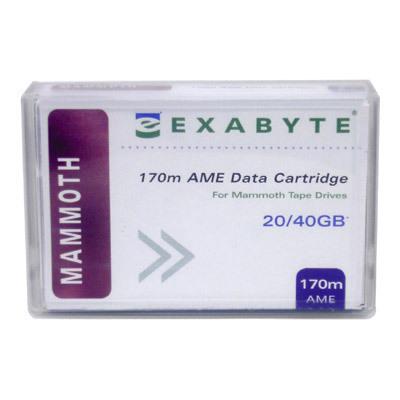 Data Cartridge - 20/40GB 8mm 170m For Exb Mammoth