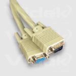 Videk SVGA M to F Coax Monitor Extension Cable 2m 2m VGA (D-Sub) VGA (D-Sub) VGA cable