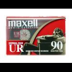 Maxell UR 90 Audio cassette 90min 2pcs