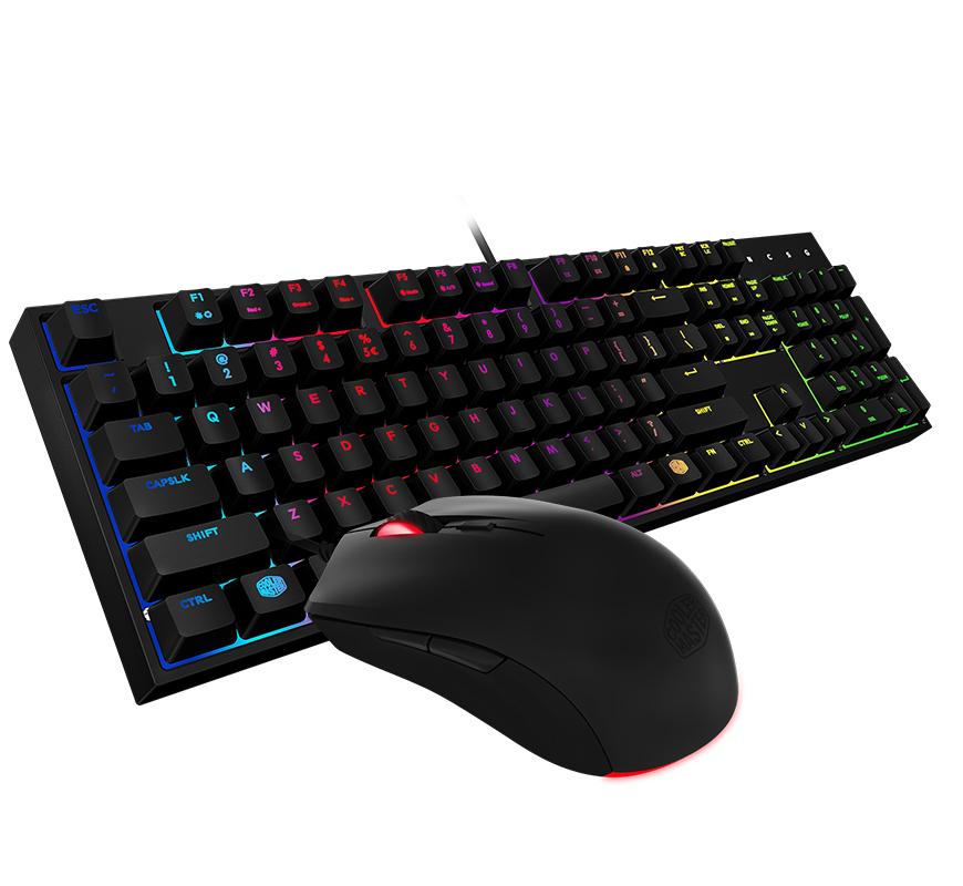 Master Keys Lite RGB Mem-Chanical Black