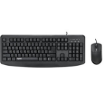 Rapoo NX1720 keyboard USB QWERTY UK English Black