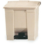 FSMISC 87LTR STEP-ON CONTAINER BEIGE 324304307