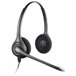 Plantronics SupraPlus HW361N/A Wideband Binaural Head-band Silver headset