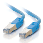 C2G Cat5E STP 100m 100m Cat5e U/FTP (STP) Blue networking cable
