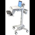Ergotron StyleView EMR Laptop Cart notebook Multimedia cart White