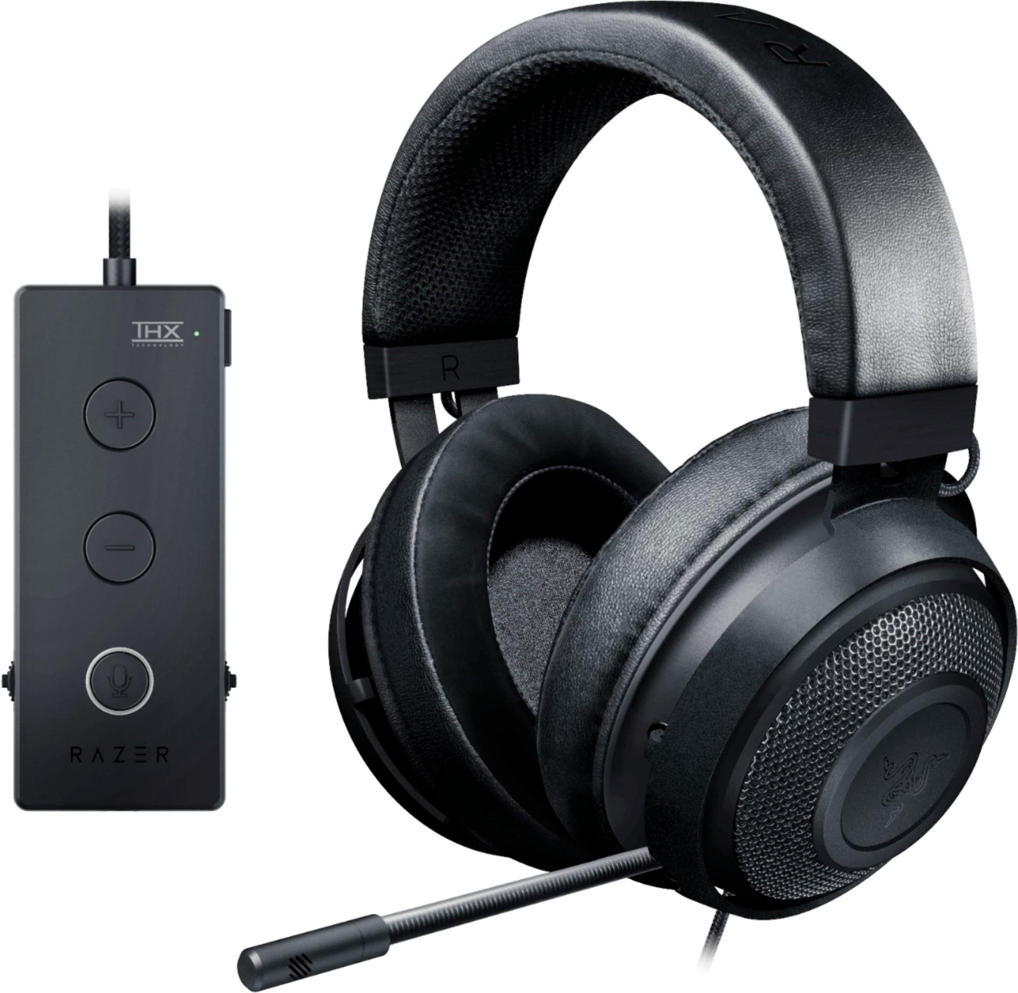 Kraken Tournament Edition Headset Black