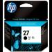 HP 27 Original Negro 1 pieza(s)
