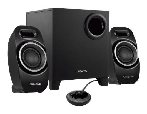 Creative Labs T3250 speaker set 2.1 channels Black