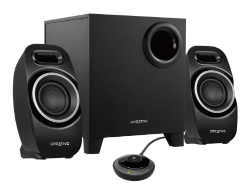 Creative Labs T3250 2.1 channels Black