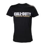 CALL OF DUTY Advanced Warfare Large T-Shirt with Main Logo, Black (TS25LSAWA-L)