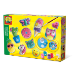 SES Creative Happy Figures Casting & Painting Kit, Unisex, Ages Five to Twelve Years, Multi-colour (01133)