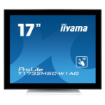 "iiyama ProLite T1732MSC-W1AG touch screen monitor 43.2 cm (17"") 1280 x 1024 pixels Black,White Multi-touch"