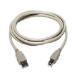 Cables Direct 5 m, USB/USB, M/M USB cable 2.0 USB A USB B White