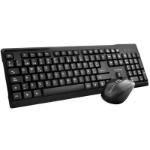 TechZone TZ16COMB01-INA RF inalámbrico Negro teclado