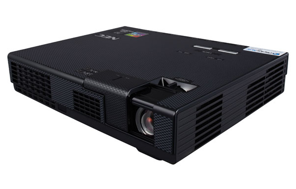 NEC L102W LED Portable projector 1000ANSI lumens LED WXGA (1280x800) Black data projector