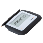 "Signotec ST-BE105-2-U100 signature capture pad 10.2 cm (4"") LED Black"