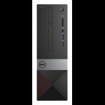 DELL Vostro 3268 3GHz i5-7400 SFF Black, Silver PC