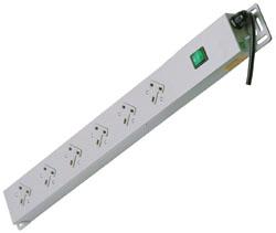 Lindy 29980 power distribution unit (PDU) Grey