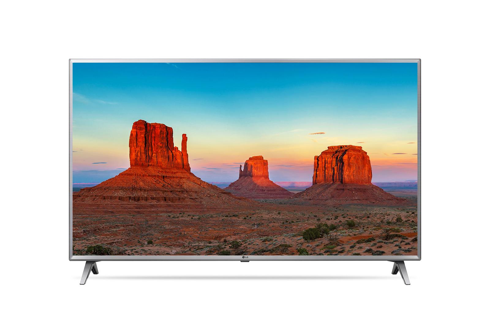 "LG 43UK6500PLA 43"" 4K Ultra HD Smart TV Wi-Fi Grey LED TV"