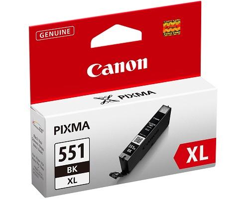 Canon CLI-551XL BK w/sec Original Foto negro 1 pieza(s)