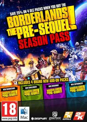 Nexway Borderlands: The Pre-Sequel Season Pass (Mac - Linux) Video game downloadable content (DLC) PC/Mac/Linux Borderlands The Pre-Sequel Español