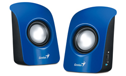 Genius SP-U115 1W Blue loudspeaker
