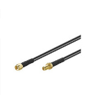 Microconnect 51679 coaxial cable 10 m Black