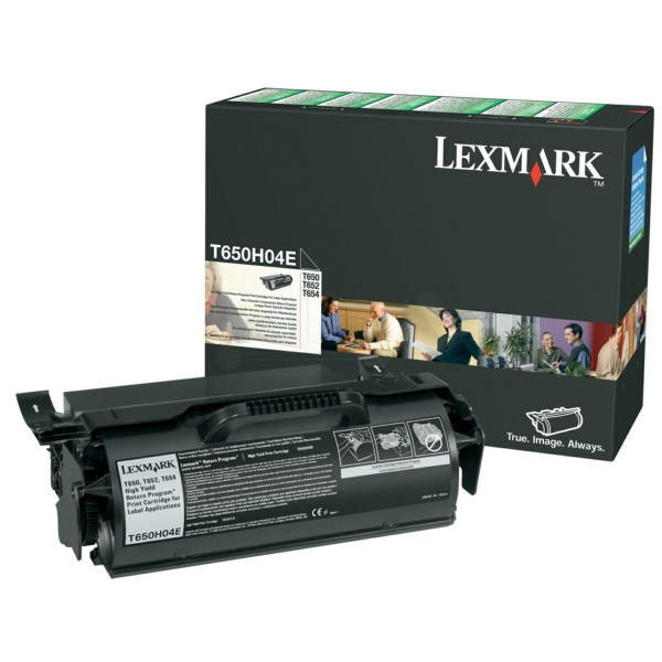 Lexmark T650H04E Toner black, 25K pages