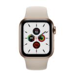 Apple Watch Series 5 reloj inteligente OLED Oro 4G GPS (satélite)
