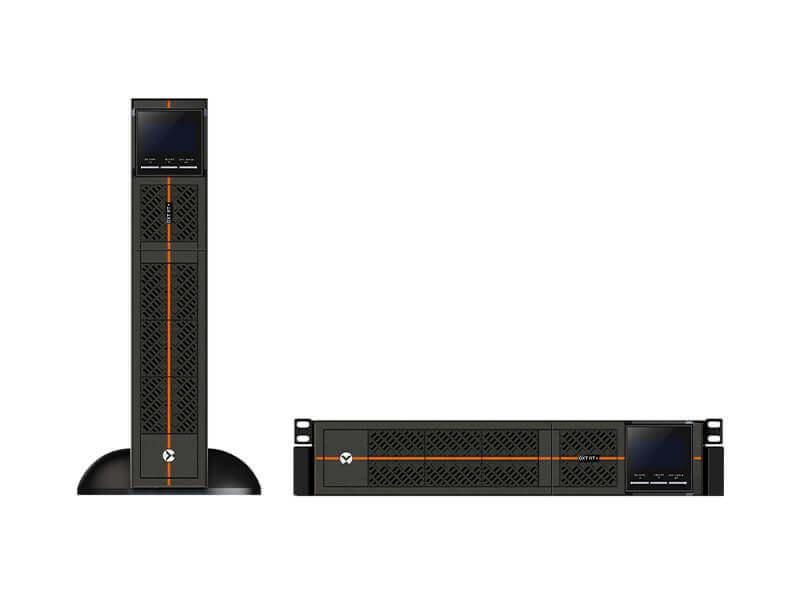 Vertiv Liebert GXTRT-3000IRT2UXL sistema de alimentación ininterrumpida (UPS) Doble conversión (en línea) 3000 VA 2700 W 7 salidas AC