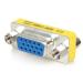 StarTech.com Adaptador Cambiador de Género VGA - Acoplador Unión de Conectores HD15 Hembra a Hembra