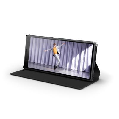 """Sony SCSI10 mobile phone case 15.2 cm (6"""") Cover Black"""