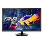 "ASUS VP248H 24"" Full HD LED Flat Black computer monitor"