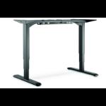 ASSMANN Electronic DA-90384 estructura regulable para escritorio Eléctrico 2 pata(s) Negro