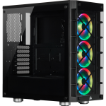 Corsair iCUE 465X RGB Midi Tower Black