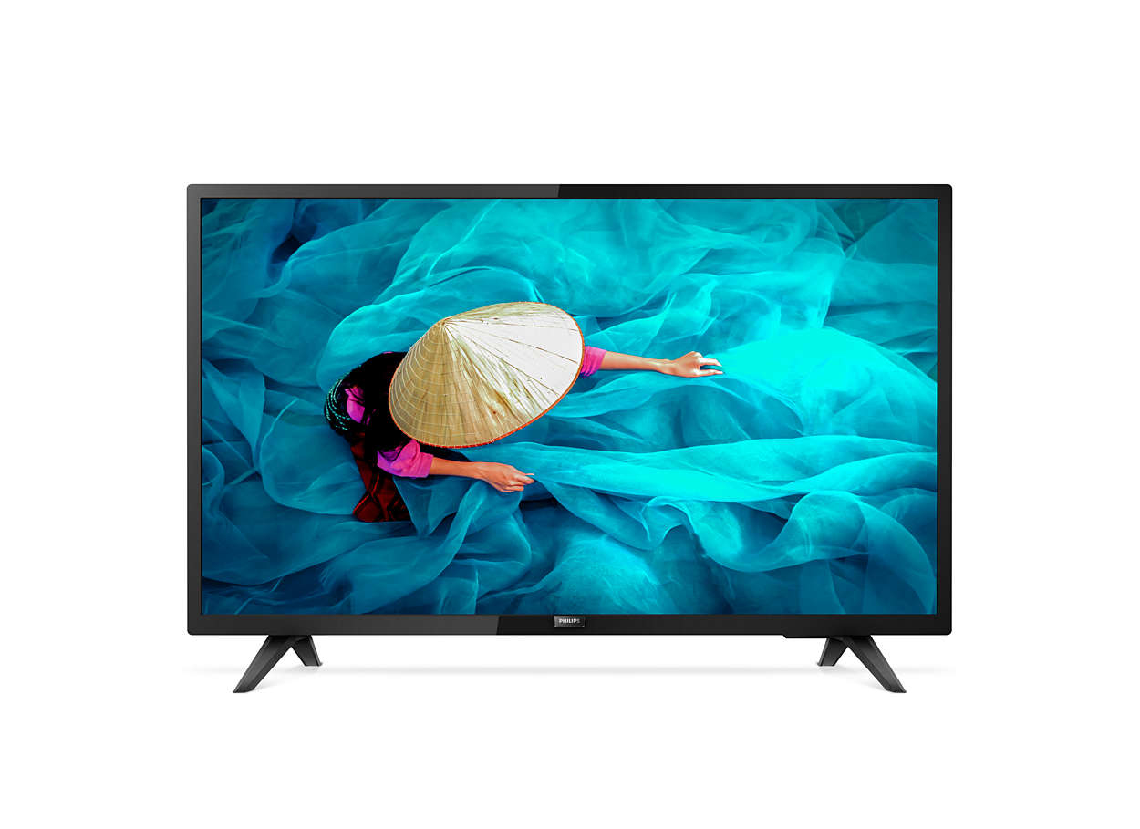 "Philips 32HFL5014/12 TV 81.3 cm (32"") Full HD Smart TV Wi-Fi Black"