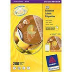 Avery L6043-100 Transparent CD printer label