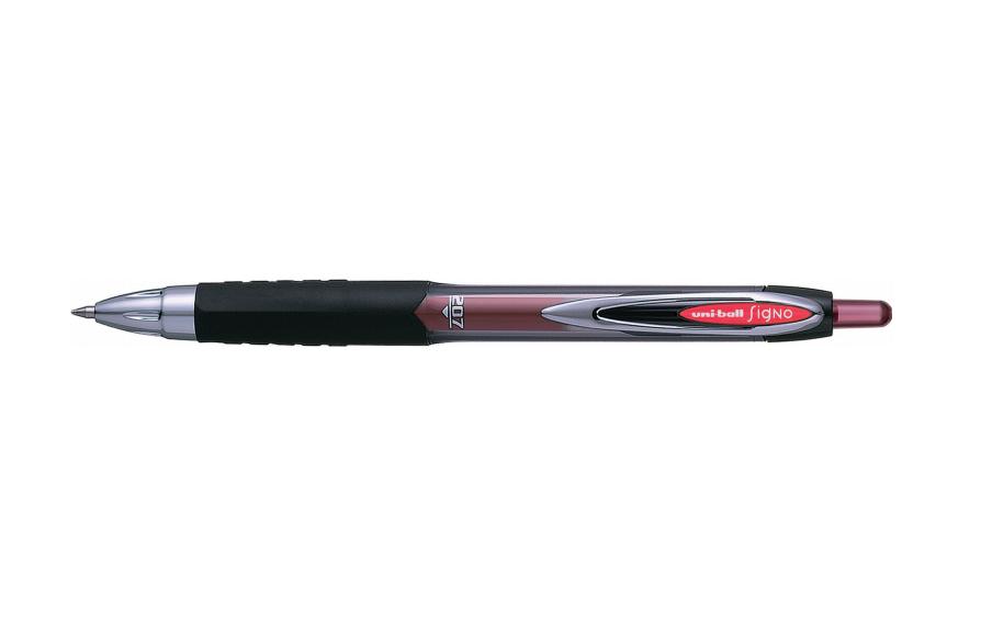Uni-Ball SigNo 207 Black Clip-on retractable ballpoint pen 1 pc(s)
