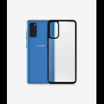 "PanzerGlass ClearCase Black Edition mobile phone case 15.8 cm (6.2"") Cover Black,Transparent"