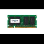 Crucial 1GB DDR2 SODIMM memory module 800 MHz