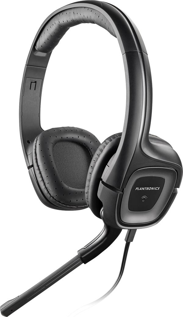 POLY .Audio 355 Multimedia Headset Head-band Black