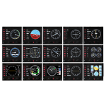 LOGITECH G PRO Flight Instrument Panel