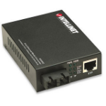 Intellinet 506502 network media converter 100 Mbit/s 1310 nm Multi-mode Black