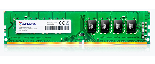 Premier Series - Ddr4 - 4 GB - DIMM 288-pin - 2400 MHz / Pc4-19200 - Cl17 - 1.2 V - Unbuffered