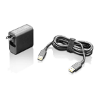 Lenovo GX20H34898 Indoor 40W Black power adapter/inverter