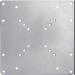 Newstar VESA Conversion Plate from VESA 75x75mm & 100x100mm to 100x200mm & 200x200mm - Silver