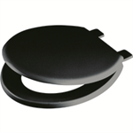 VFM BLACK EMERALD TOILET SEAT/LID BLACK