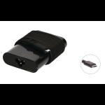 2-Power ALT22222A power adapter/inverter Indoor 65 W Black