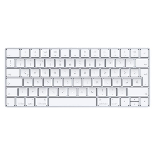 Apple Magic Keyboard mobile device keyboard QWERTZ Hungarian White Lightning