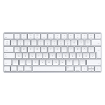 Apple Magic Keyboard Lightning QWERTZ Hungarian White mobile device keyboard